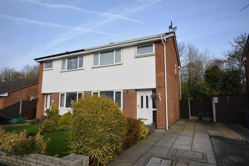 3 Bedrooms Semi Detached House for sale in Chatsworth Avenue, Springview, Wigan, WN3