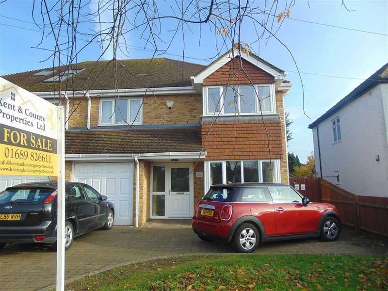 4 Bedrooms Semi Detached House for sale in Main Road, Orpington, Kent