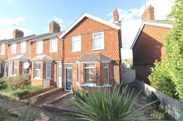 3 Bedrooms End Of Terrace House for sale in Whitley Road, Eastbourne, BN22