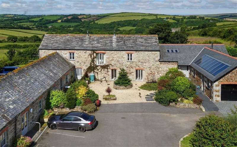 8 Bedrooms Detached House for sale in Withiel, Bodmin, Cornwall, PL30