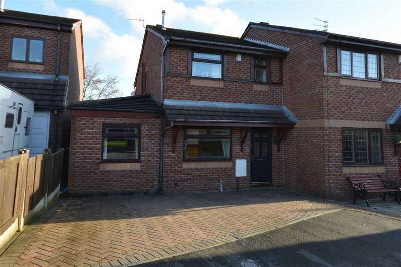3 Bedrooms Semi Detached House for sale in Gray Close, New Springs, Wigan, WN2