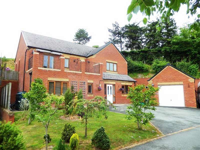 4 Bedrooms Detached House for sale in Oak View, Newtown, SY16