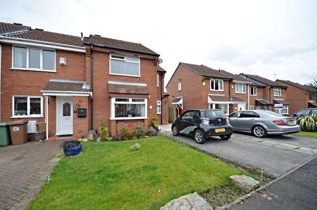 3 Bedrooms Link Detached House for sale in Moss Bank