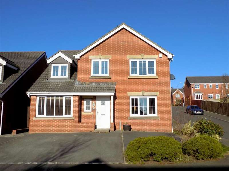 5 Bedrooms Detached House for sale in Crymlyn Parc, Neath