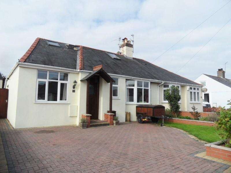 3 Bedrooms Semi Detached Bungalow for sale in Greenfield Avenue, Birchgrove, Cardiff. CF14 1TF