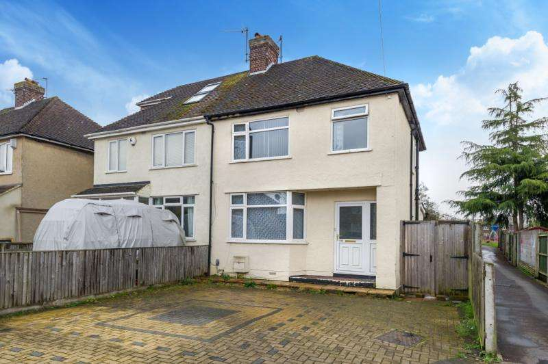 3 Bedrooms Semi Detached House for sale in Wytham Street, New Hinksey, Oxford.