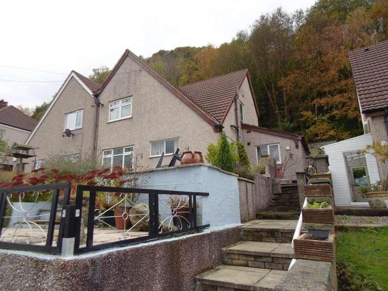 3 Bedrooms Semi Detached House for sale in 3 Graham Road, Dolgarrog, LL32 8JL