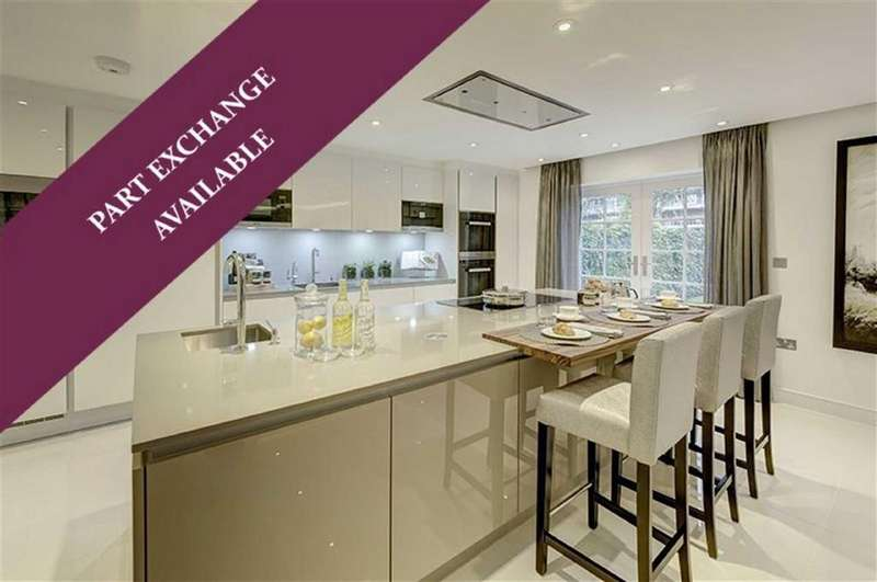 4 Bedrooms Detached House for sale in The Village Green, Mill Hill, London