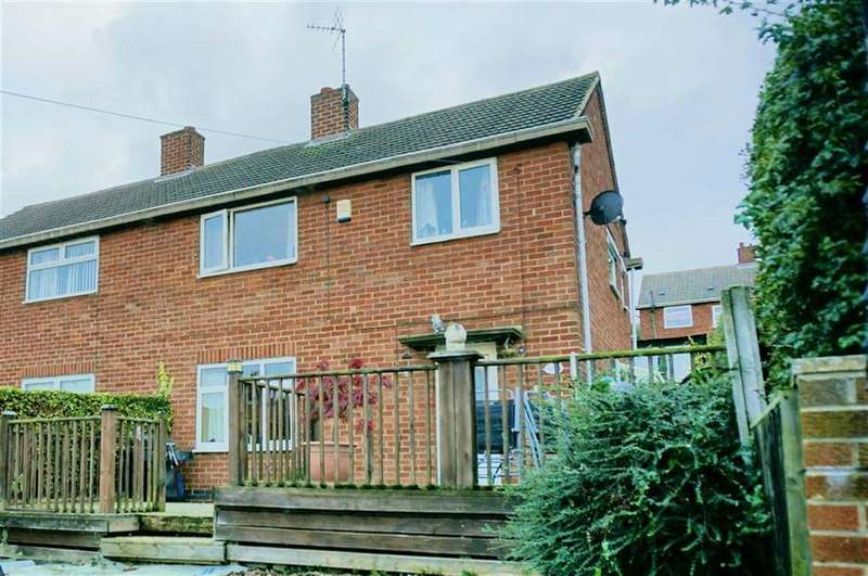 3 Bedrooms Semi Detached House for sale in Peveril Road, Bolsover, Chesterfield, Derbyshire, S44