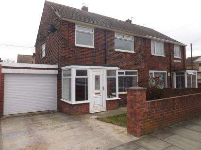 3 Bedrooms Semi Detached House for sale in Gainsborough Avenue, Whiteleas, South Shields, Tyne and Wear, NE34