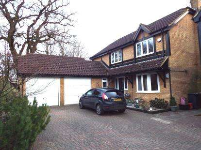 4 Bedrooms Detached House for sale in Grenville Way, Stevenage, Hertfordshire, England