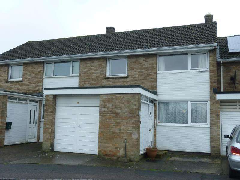 3 Bedrooms Terraced House for sale in Hill View, Carterton, Oxon