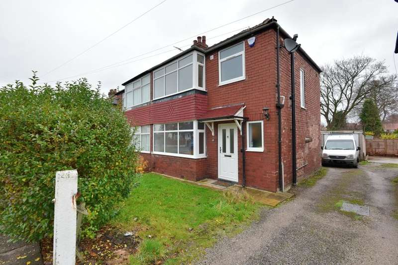 3 Bedrooms Semi Detached House for sale in Beverley Road, Offerton, Stockport, SK2 5AY