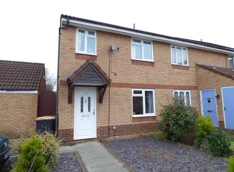 3 Bedrooms End Of Terrace House for sale in Heather Gardens, Bedford, MK41 0TB