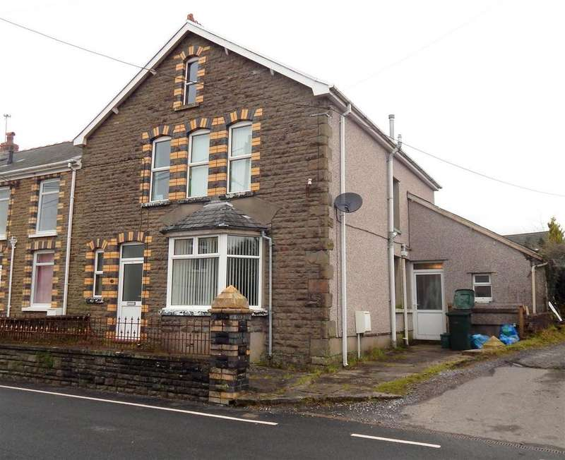 4 Bedrooms Semi Detached House for sale in Llandeilo Road, Upper Brynamman, Ammanford