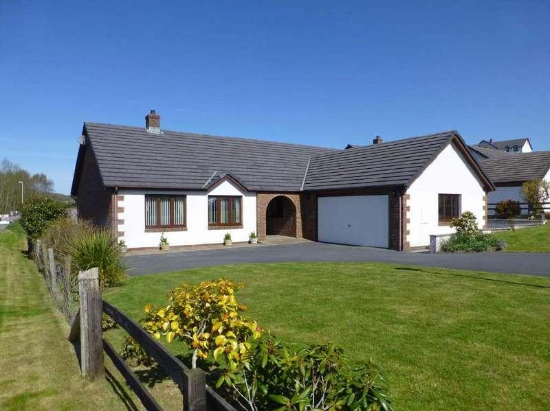 3 Bedrooms Detached Bungalow for sale in Bryn Eglur, Llanfarian, Aberystwyth, SY23