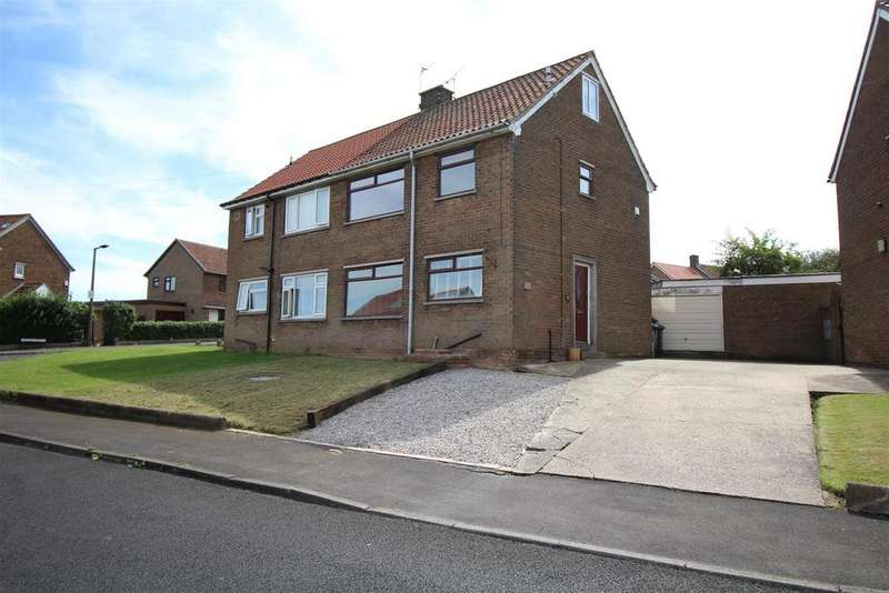 3 Bedrooms Semi Detached House for sale in Keats Drive, Dinnington, Sheffield