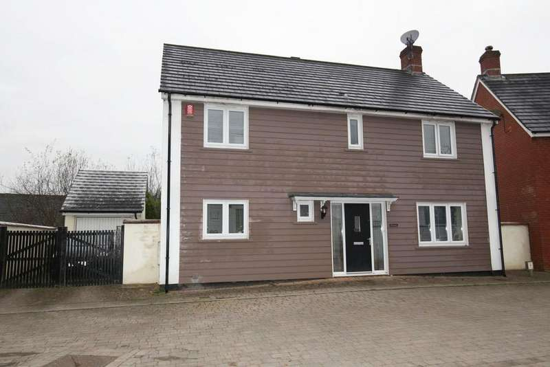 4 Bedrooms House for sale in Batherm Close, Bampton, Tiverton