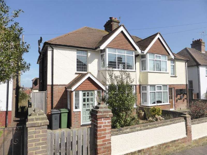 3 Bedrooms Semi Detached House for sale in Crunden Road, Eastbourne, BN20