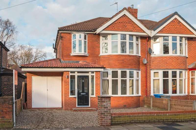 3 Bedrooms Semi Detached House for sale in Westminster Road, Davyhulme, Manchester, M41