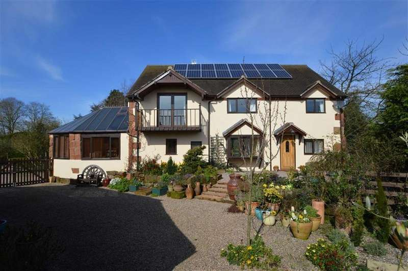 5 Bedrooms Detached House for sale in Heath Farm, Holyhead Road, Nesscliffe, SY4