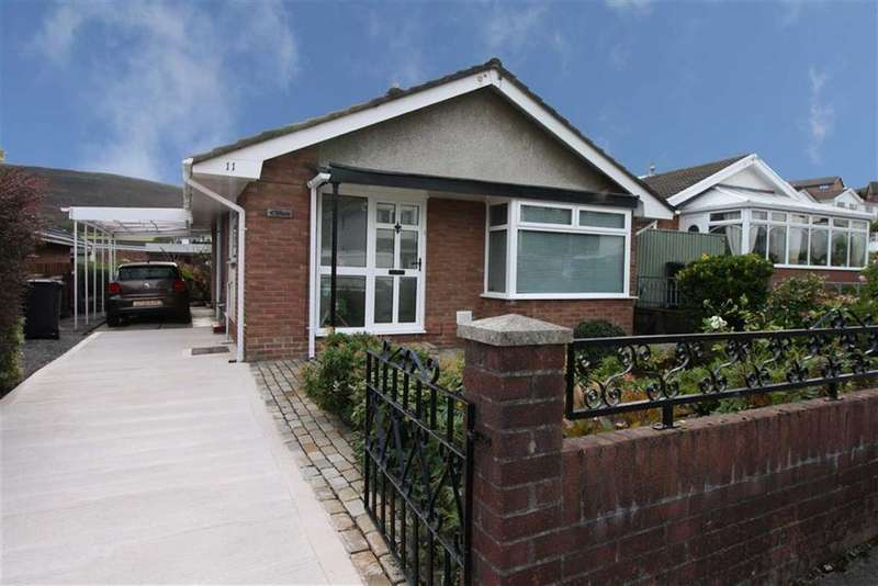2 Bedrooms Detached Bungalow for sale in Chestnut Close, Landare, Aberdare
