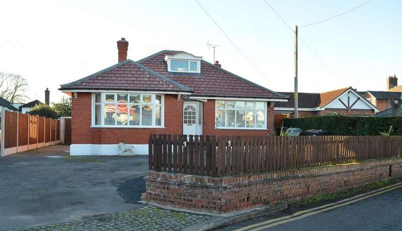 3 Bedrooms Detached Bungalow for sale in Waterloo Road, Haslington