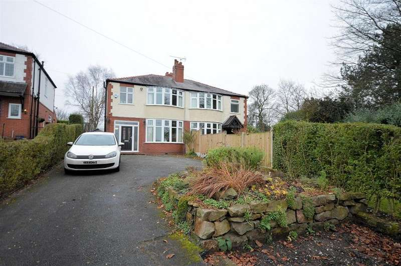 3 Bedrooms Semi Detached House for sale in Newcastle Road, Congleton