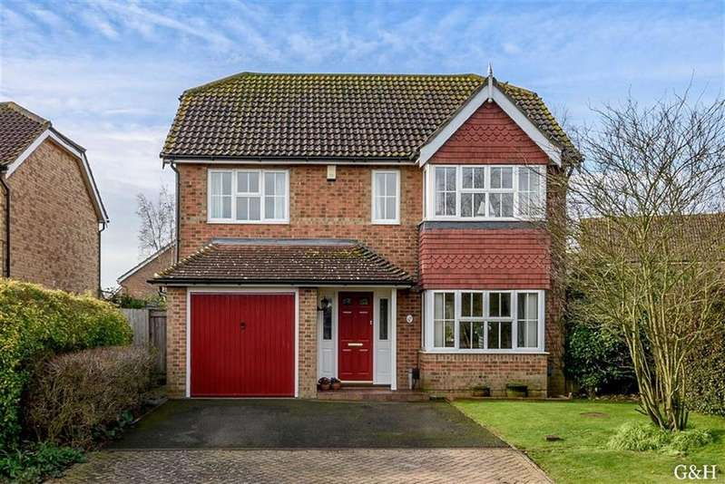 4 Bedrooms Detached House for sale in James Allchin Gardens, Kennington, Ashford