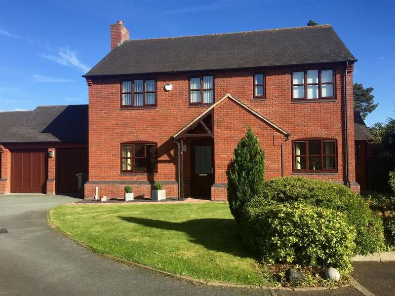 4 Bedrooms Detached House for sale in Bazeley Way, Wem, Shropshire