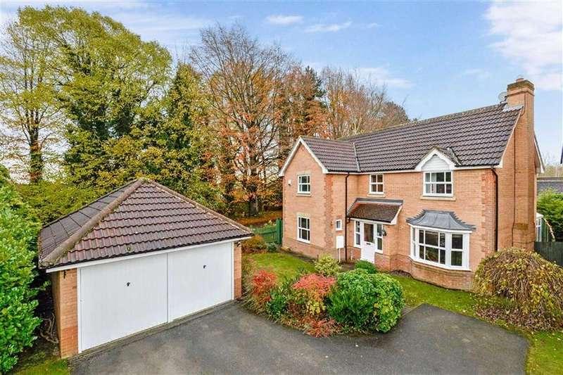4 Bedrooms Detached House for sale in Appleby Crescent, Knaresborough, North Yorkshire