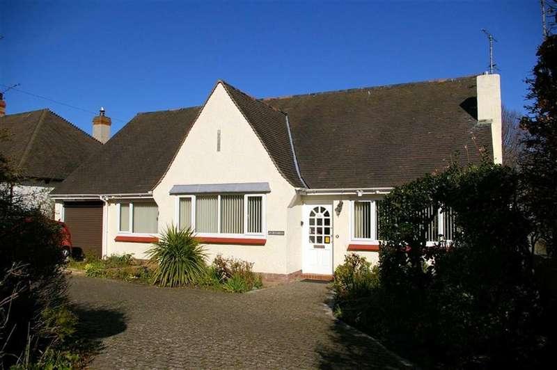 3 Bedrooms Detached Bungalow for sale in Brompton Avenue, Rhos On Sea, Colwyn Bay