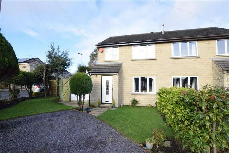 3 Bedrooms Semi Detached House for sale in Goldcrest Court, Netherton, Huddersfield, HD4