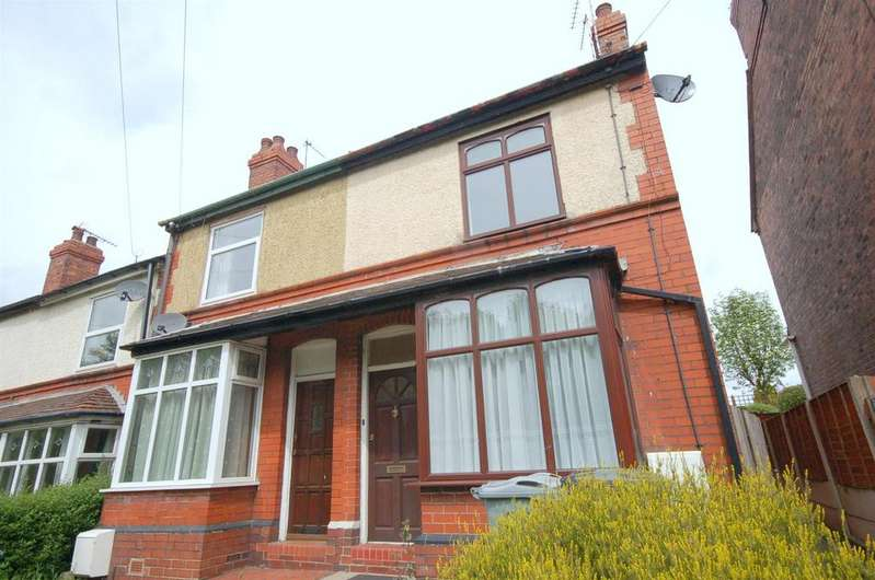 2 Bedrooms Town House for sale in Crewe Road, Church Lawton