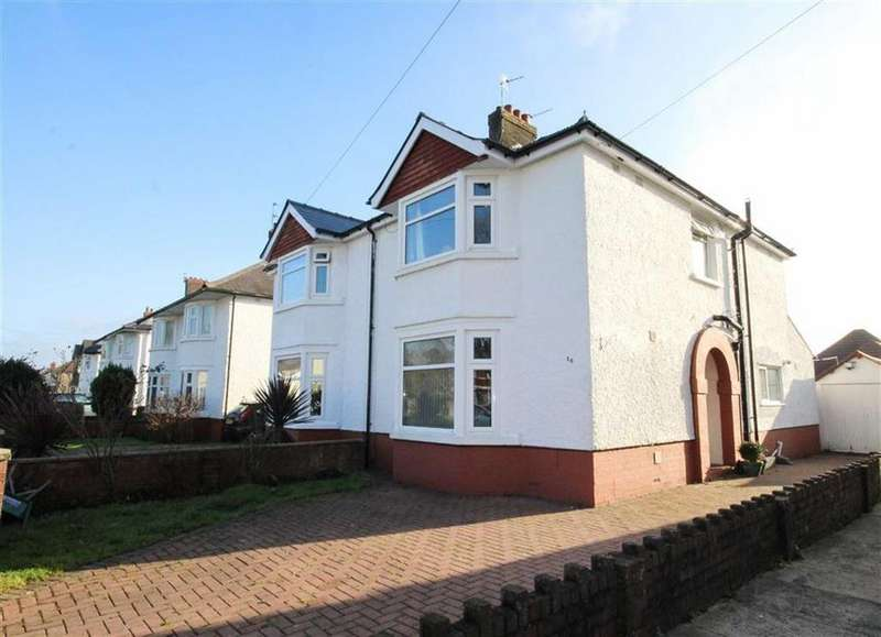 3 Bedrooms Semi Detached House for sale in Heol Y Waun, Cardiff
