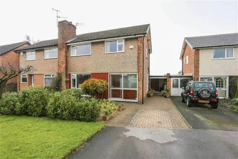 3 Bedrooms Semi Detached House for sale in Hollingworth Drive, Marple, Cheshire