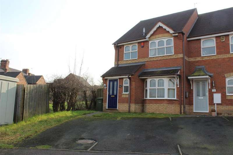 3 Bedrooms Semi Detached House for sale in Waterside, Polesworth, Tamworth