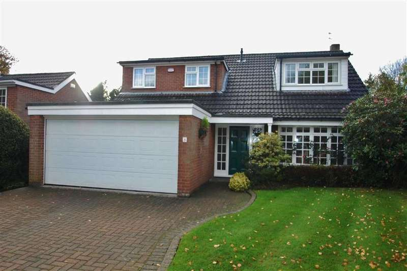 3 Bedrooms Detached House for sale in Barley Drive, Bramhall, Cheshire