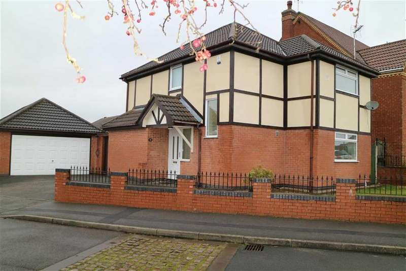 3 Bedrooms Detached House for sale in Quarries Way, Kirkby In Ashfield, Notts, NG17