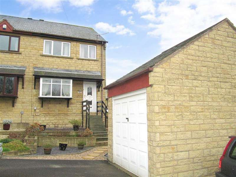 3 Bedrooms Semi Detached House for sale in Caldercroft, Elland, Halifax