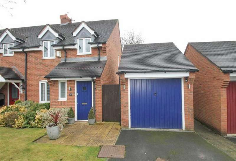 3 Bedrooms End Of Terrace House for sale in Withington Close, Leftwich
