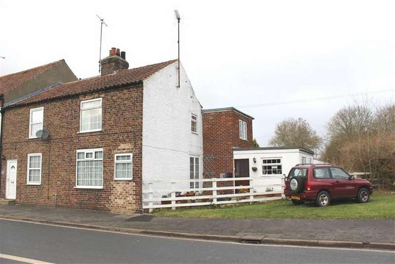 3 Bedrooms End Of Terrace House for sale in High Street, Rudston, East Yorkshire