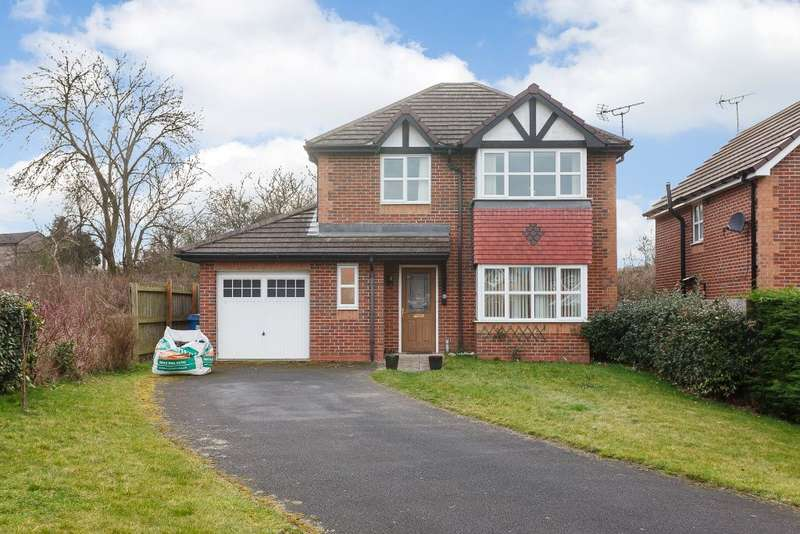4 Bedrooms Detached House for sale in Conwy Close, Acrefair, Wrexham LL14 3LH