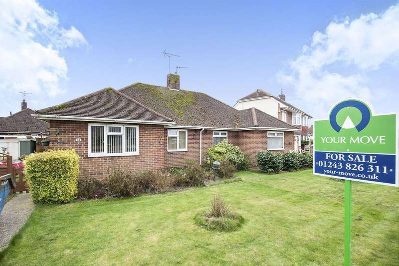 2 Bedrooms Semi Detached Bungalow for sale in Orchard Way, Bognor Regis, PO22