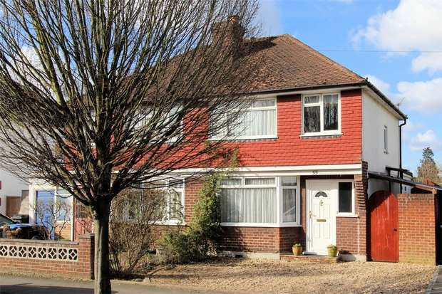 3 Bedrooms Semi Detached House for sale in Old Woking, Woking, Surrey