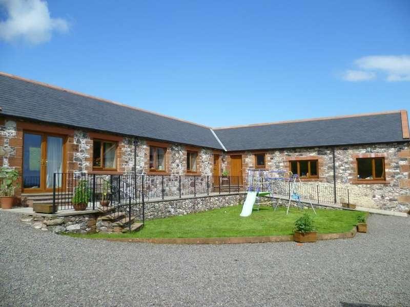 5 Bedrooms Detached Bungalow for sale in Moat Farm, Auldgirth, Dumfries, DG2