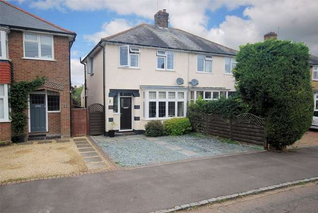 3 Bedrooms Semi Detached House for sale in Castle Park Road, Wendover, Buckinghamshire