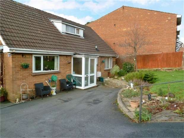 3 Bedrooms Detached Bungalow for sale in Ruspidge Road, Cinderford, Gloucestershire