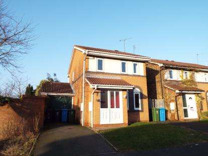 3 Bedrooms Detached House for sale in Woodstock Drive, Cannock, Staffordshire