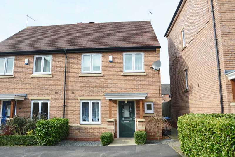 3 Bedrooms Semi Detached House for sale in Arundel Way, Cawston